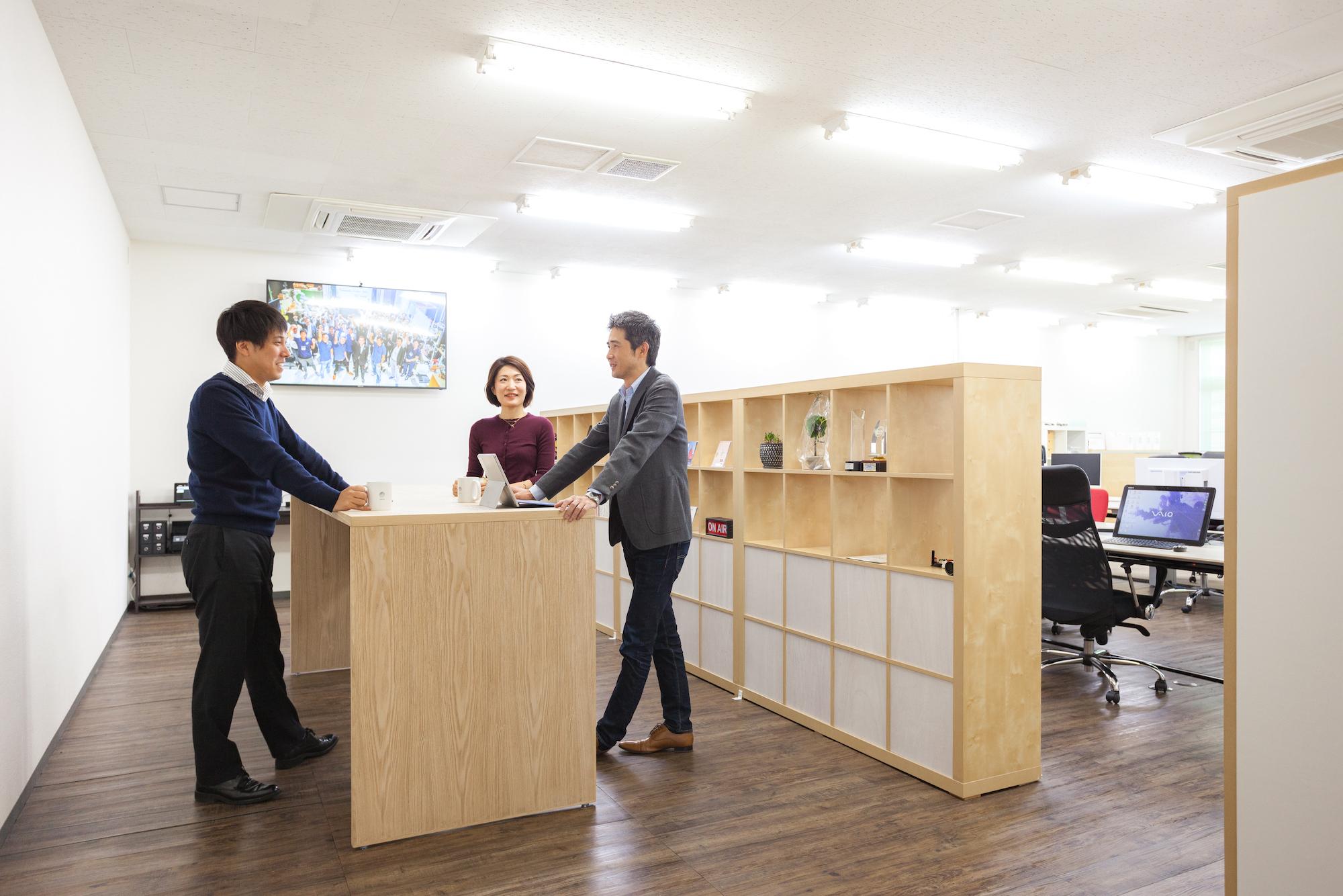 【オフィスデザイン事例紹介】株式会社NOKIOO様 働き方改革とコミュニケーションがリンクするオフィス